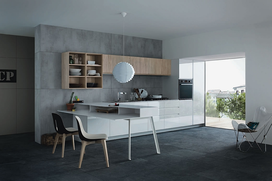 Stylish Wing and Desco tables complete the Mila Collection from Cesar