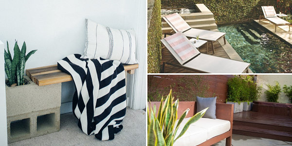 Summer lounge inspiration Outdoor Lounge Design With A DIY Twist