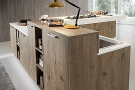 Gorgeous Kitchen Blends Sleek Minimalism With A Chic Eco-Friendly Design