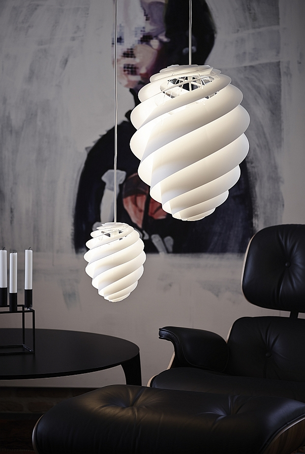 Swirl Pendant Collection from Le Klint
