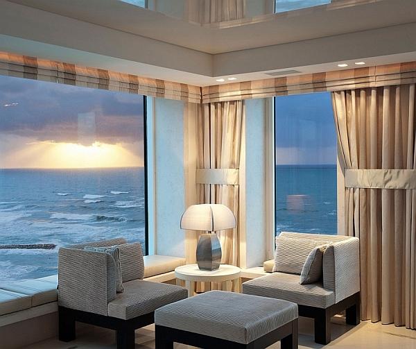 Dramatic Tel Aviv Apartment Brings Together Sand, Sea And Sensational Views