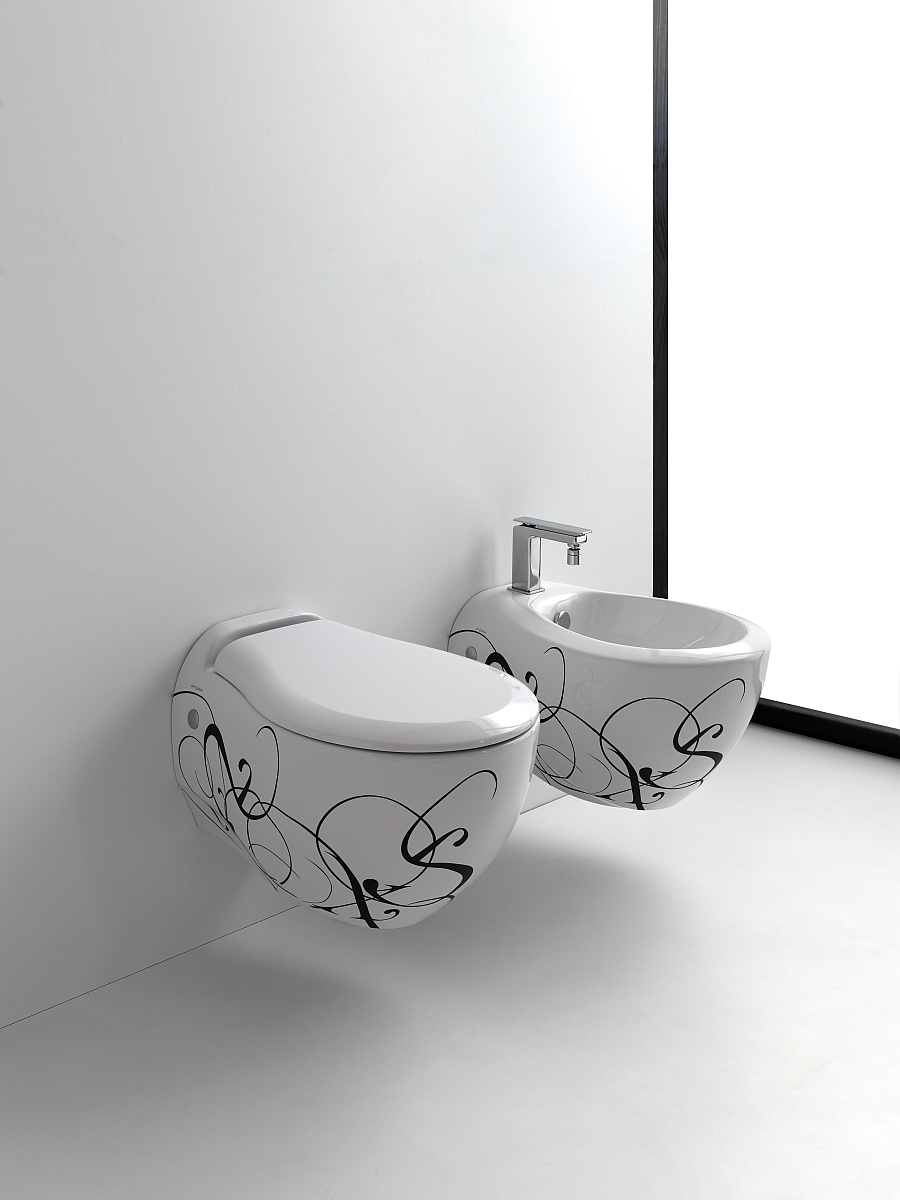 The Jazz collection of Sanitaryware in white