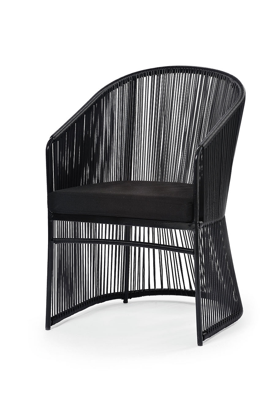 Tibidabo Armchair in Black Frame
