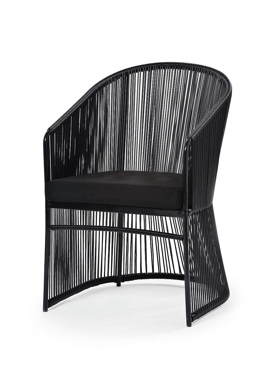 Tibidabo Armchair in Black Frame