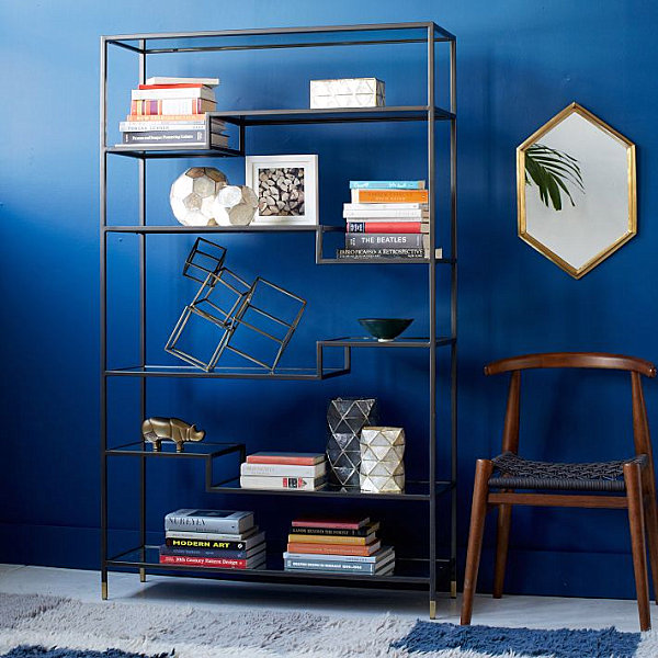 Tiered bookcase from West Elm