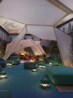 Trendy outdoor decor from Paola Lenti