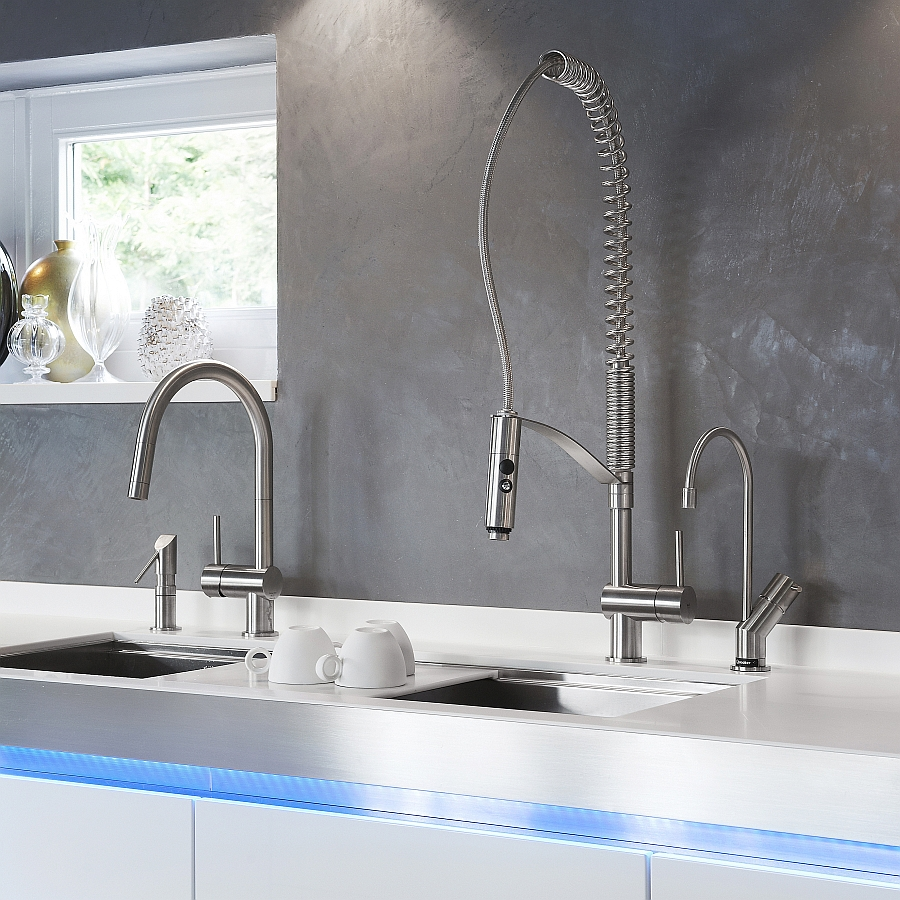 VELA LD brings a hint of exclusivity to the modern kitchen