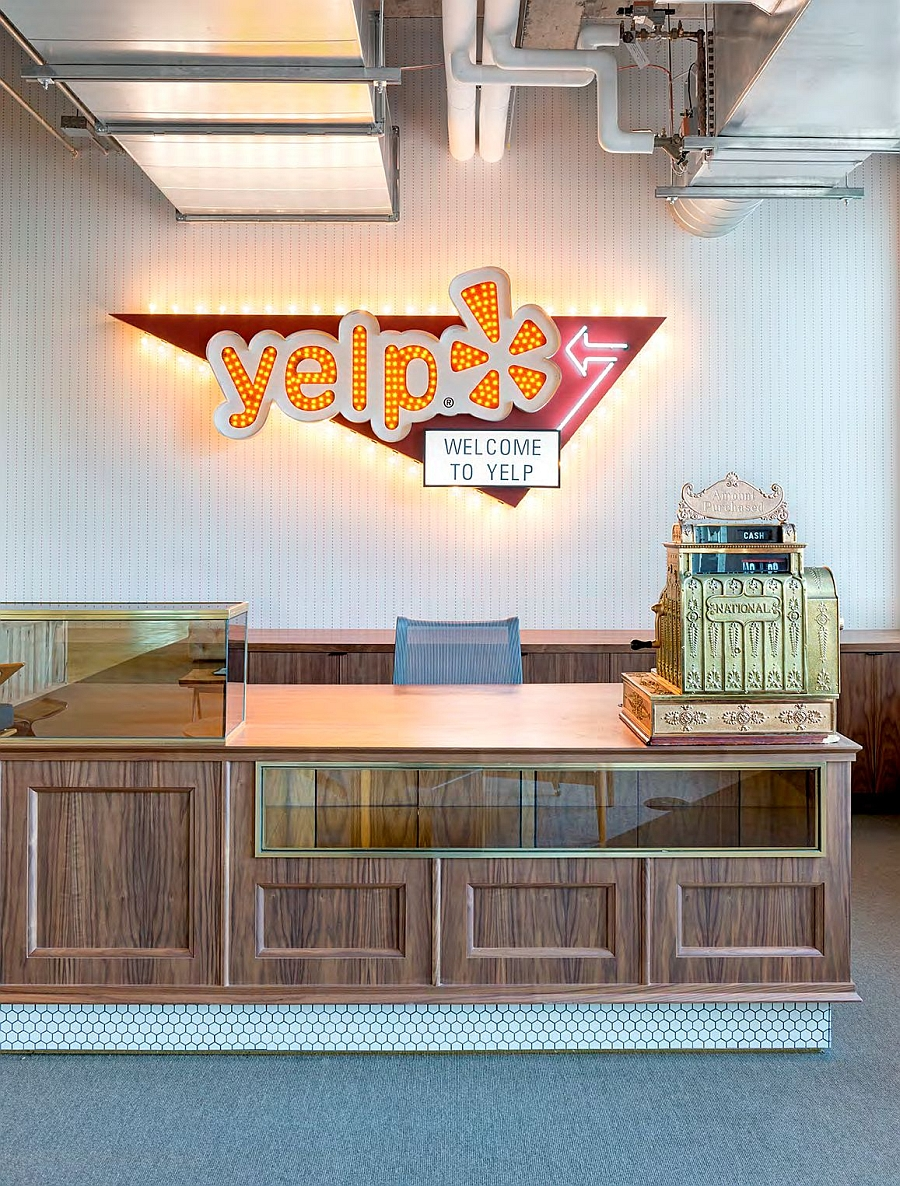kimball office orders uber yelp. View In Gallery Vintage Cash Register At The Yelp Headquarters San Francisco Kimball Office Orders Uber