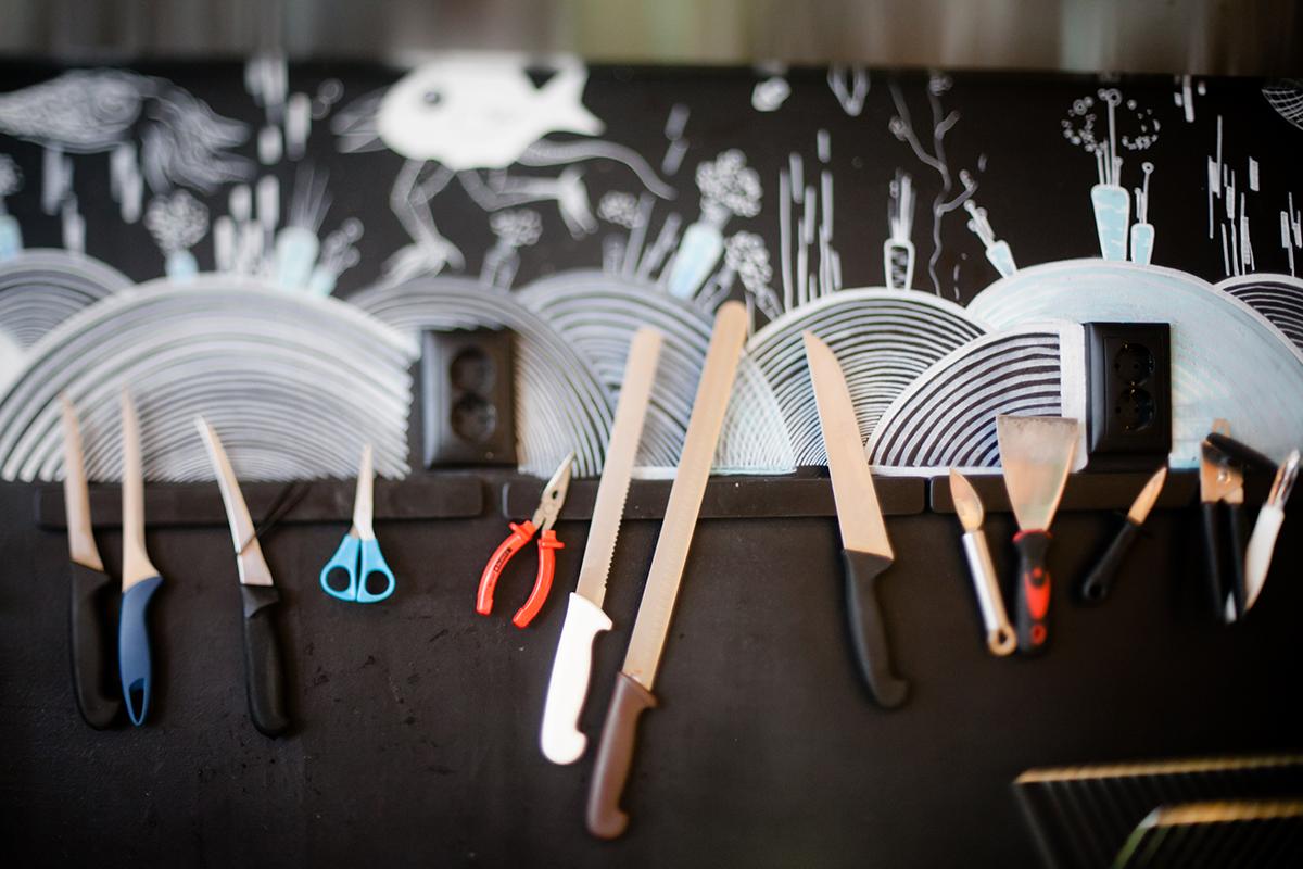 Wall Art - Raionul de Peste restaurant
