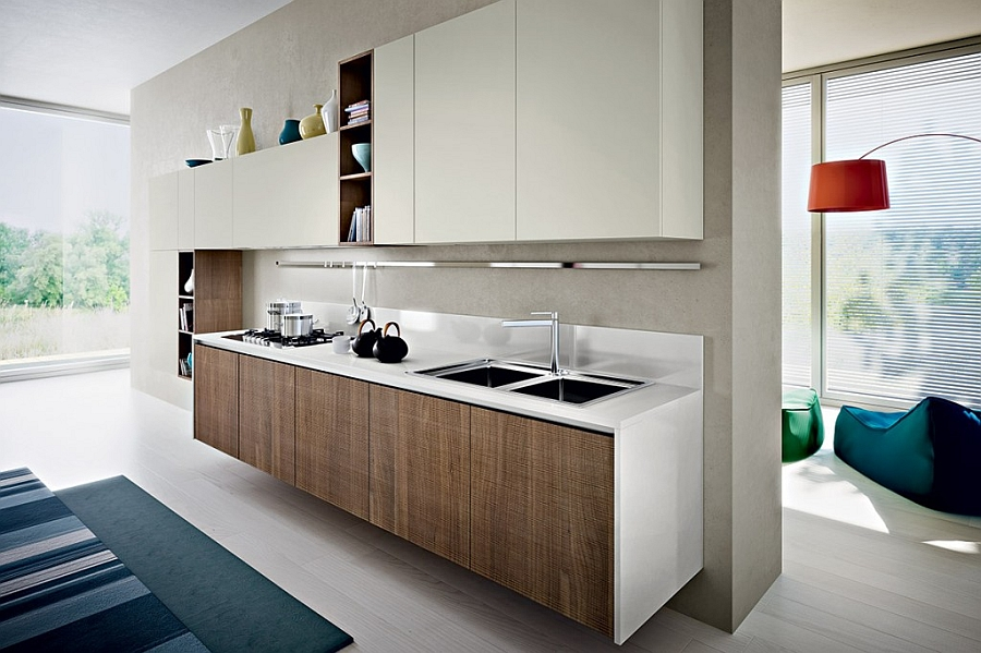 Gorgeous Kitchen Blends Sleek Minimalism With A Chic EcoFriendly