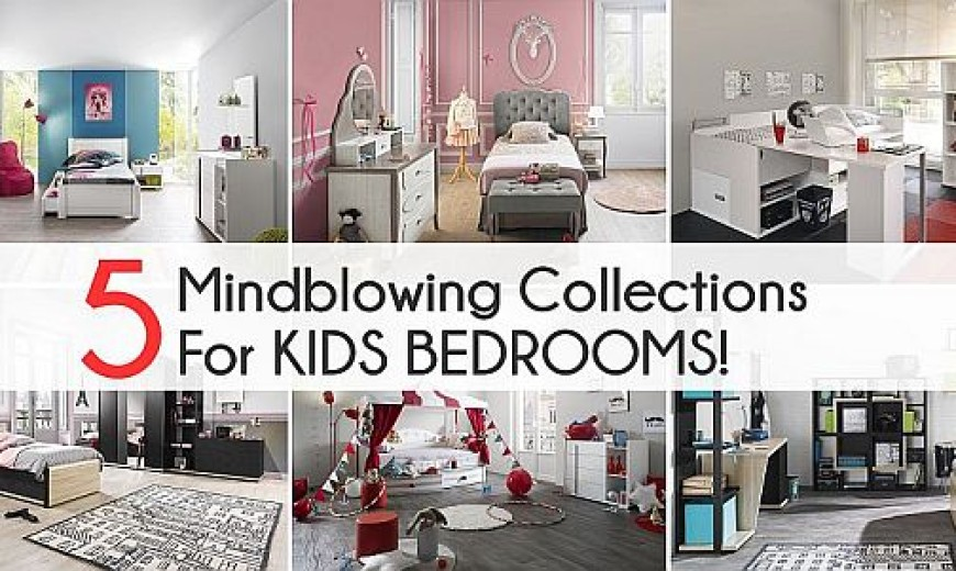 Beautiful Kids' Bedrooms From Gautier Amaze With Color And Creativity!