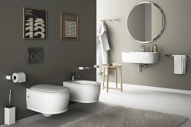 Wall-Hung Sanitary Solutions For The Small, Space-Conscious Bathroom