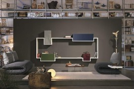 Innovative Wall-Mounted Units Bring Design Freedom Draped In Sleek Modularity