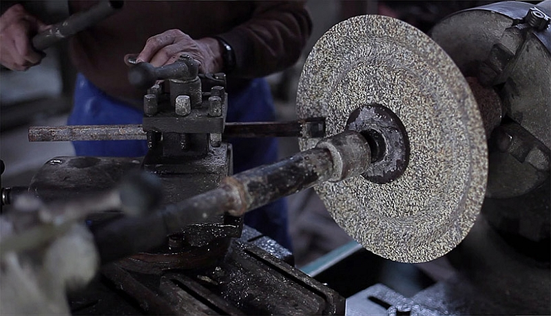 A look at the making of the exclusive granite  pendant
