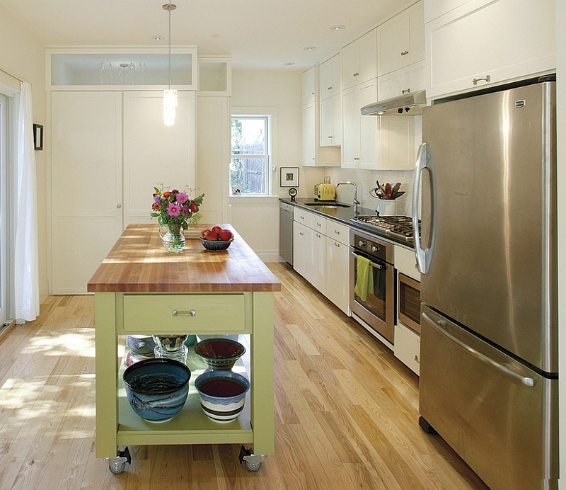 A smart mobile addition for the efficient modern kitchen