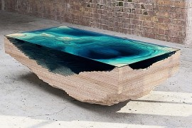 Mesmerizing Limited Edition Abyss Table Promises To Bring The Ocean Indoors!