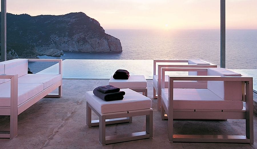 Amazing outdoor lounge steals the show at the Ibiza villa Discussing Dream Homes & Architecture Lifestyle in Ibiza