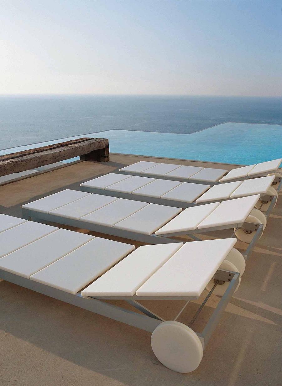 Amazing sea views shape the stunning villa in Ibiza