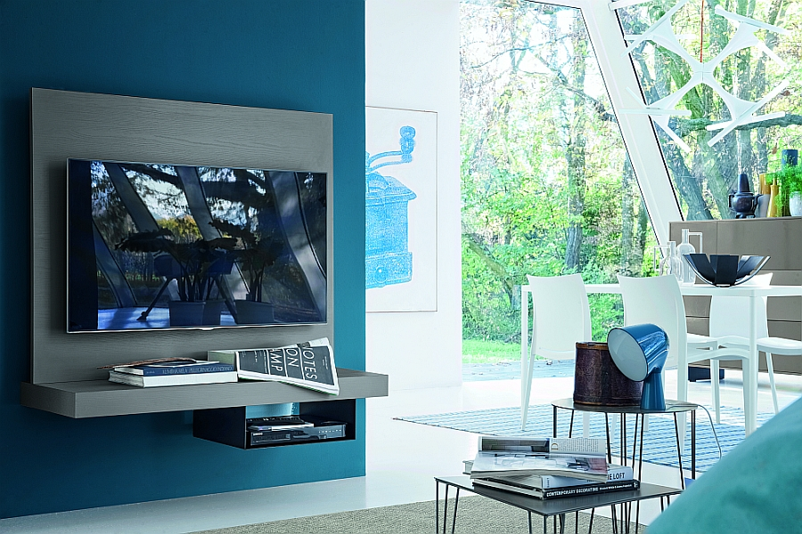 An understated and simple look for your television stand