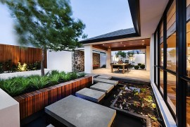 Japanese-Inspired Perth Residence Offers Serenity Draped In Posh Elegance