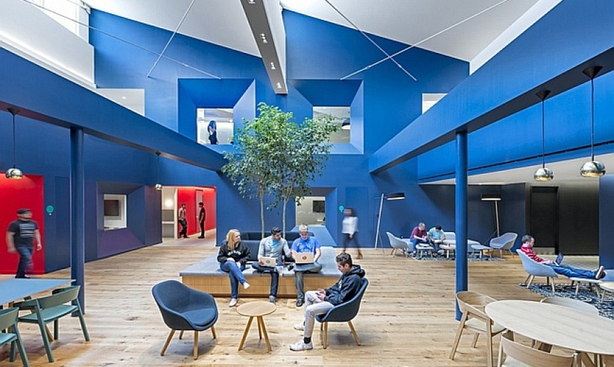 Charismatic Beats By Dre Headquarters In Culver City Exudes Vibrant Sophistication
