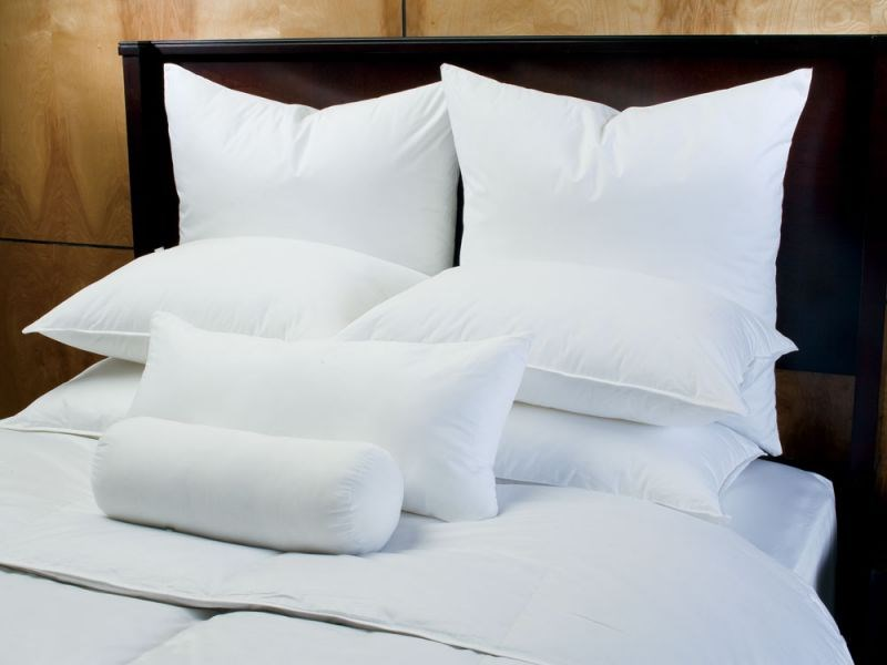 Bed pillows from Linens 'n Things