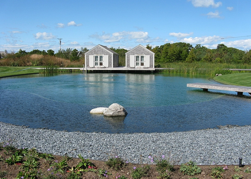 View In Gallery Biotop Natural Swimming Pool Helps Create A Stunning,  Sustainable Landscape