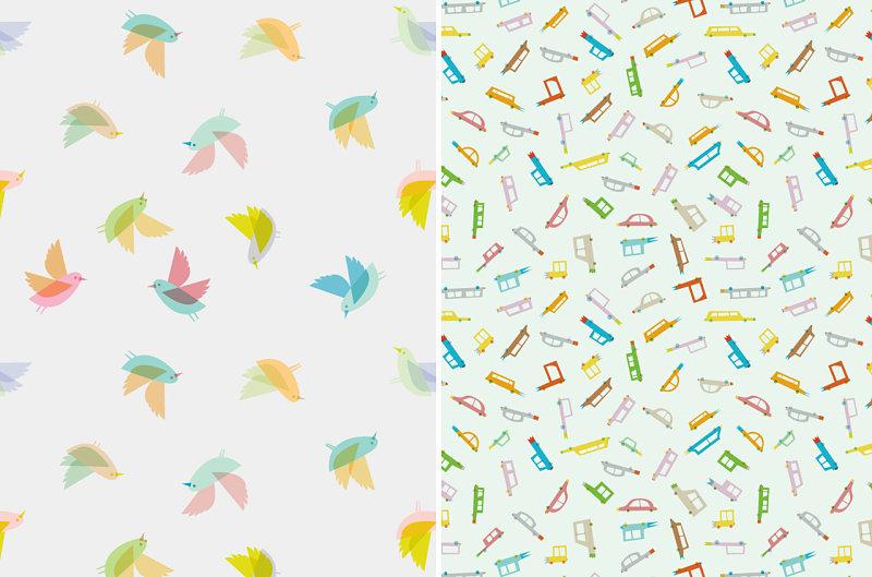 Birds and Cars by Judy Kaufmann
