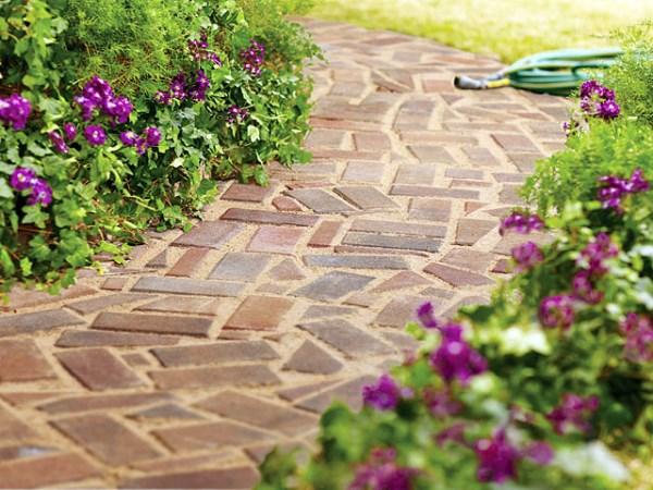 Brick paver pathway tutorial