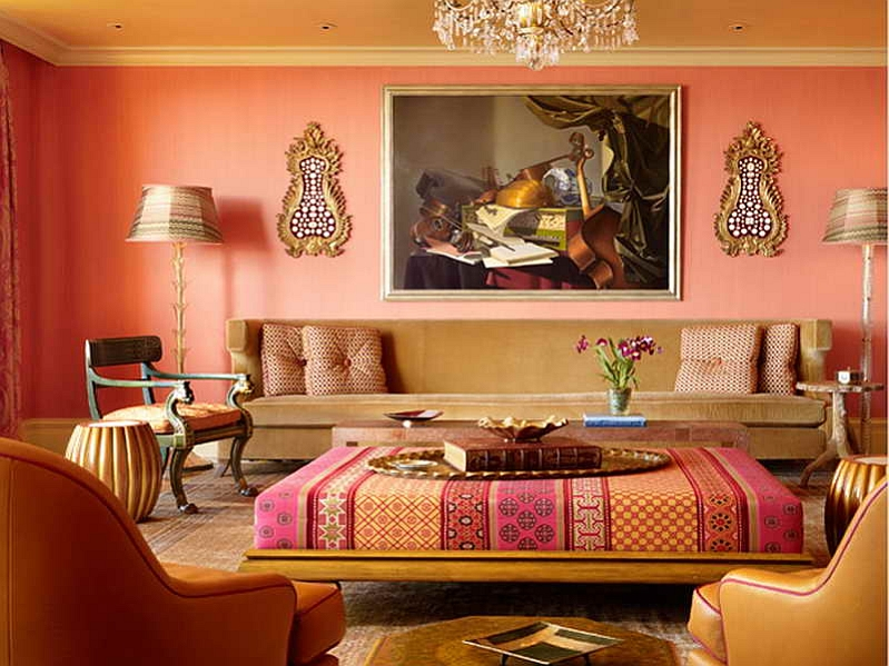 Attirant View In Gallery Celebrate Color And Patterns With The Vibrant Moroccan Style