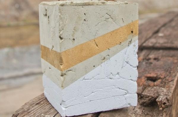 Cement planter design