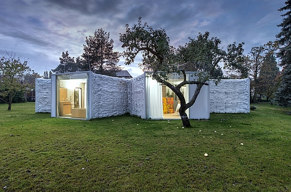 Chameleon House by Petr Hajek Architekti in Prague