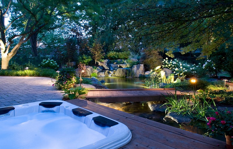 View In Gallery Chemical Free Natural Swimming Pool Design For A  Mesmerizing Backyard