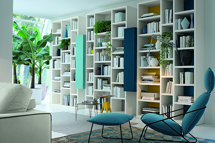 Colors Everyday wall unit looks refreshingly elegant and truly captivating