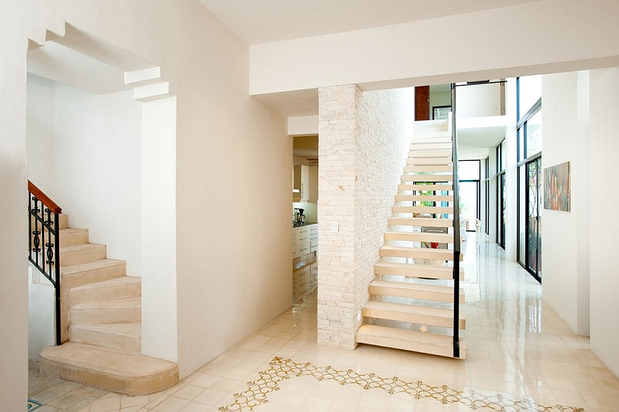 Combining classic interior with a modern design style