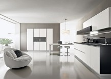 Deft Storage Solutions Shape Efficient Kitchen For The Trendy Urban Home