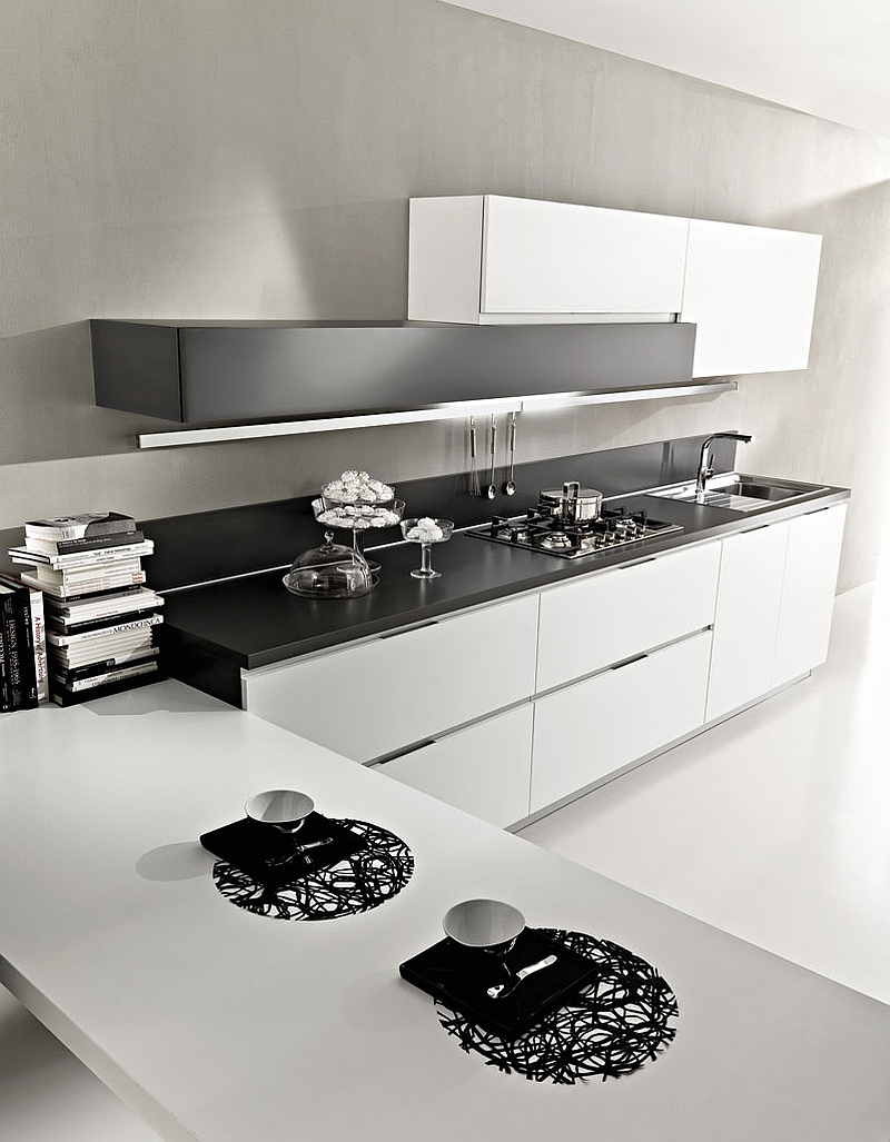 Contemporary Magika kitchen with simple and posh design