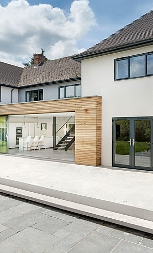Contemporary Renovation of Classic House