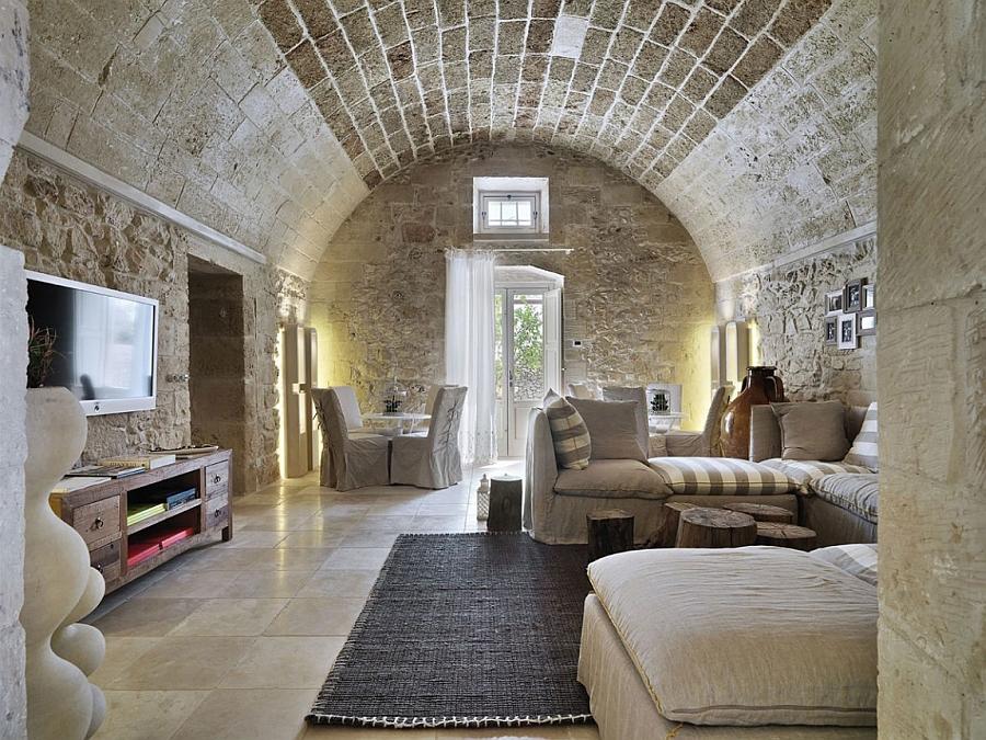 Contemporary comfort meets historical design at the Relais Masseria Capasa