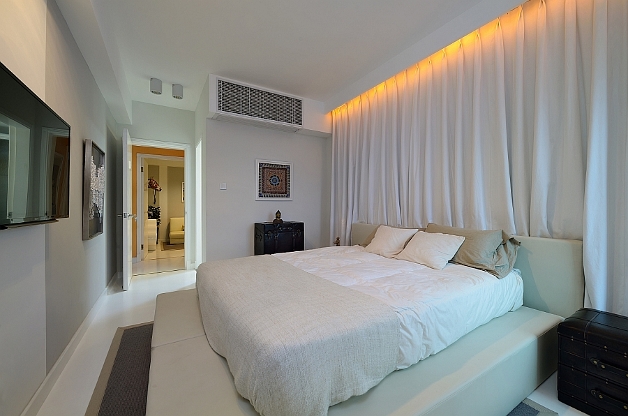 old apartment turned into a trendy urban home  renovation best ceiling lights for small bedroom