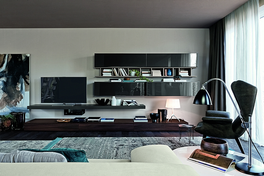 versatile modular living room units trendy