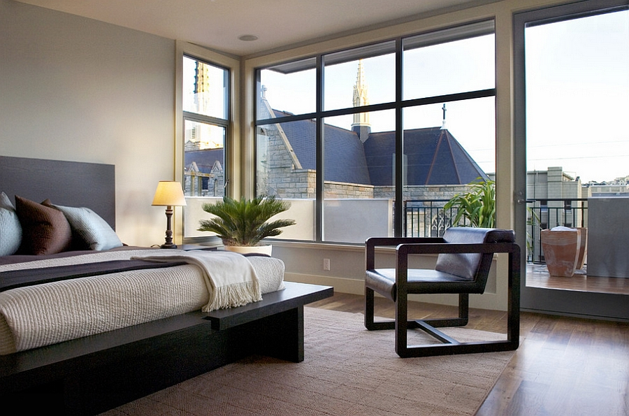 Creative decor pieces add inimitable style and sculptural value to the bedroom