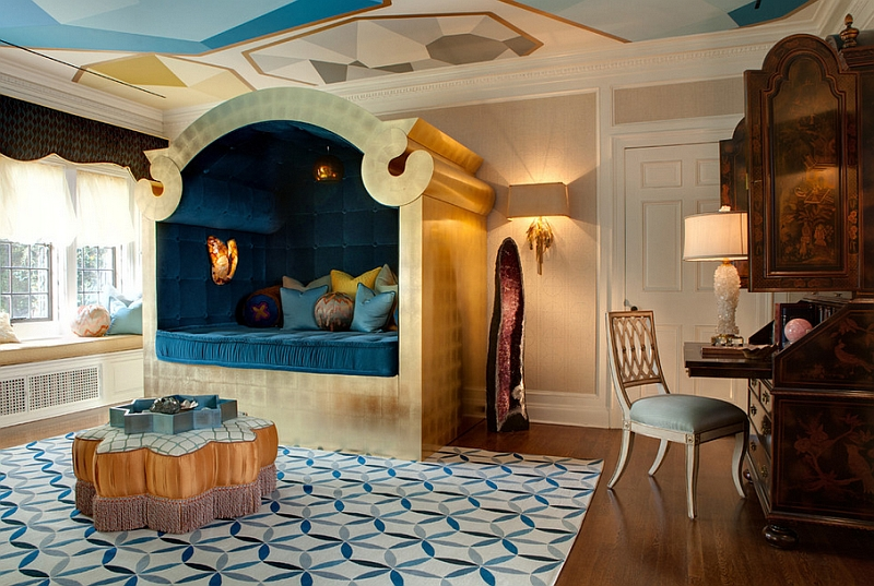 View In Gallery Custom Designed Bed And Rich Gold Accents Turn This Moroccan  Bedroom Into A Dreamy Retreat