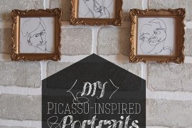 DIY Picasso-Inspired Portraits