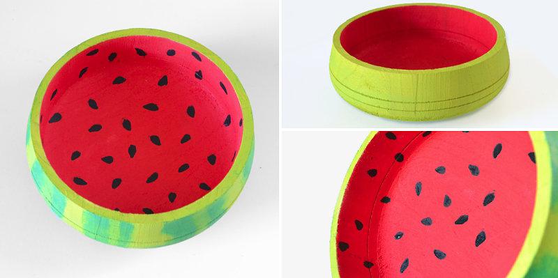 DIY watermelon bowl