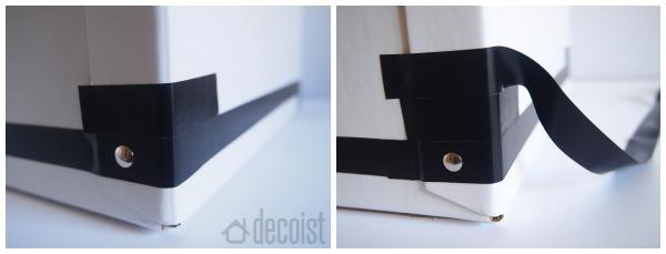 Decoist - Black and White Storage Box DIY