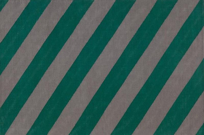 Diagonal stripe rug
