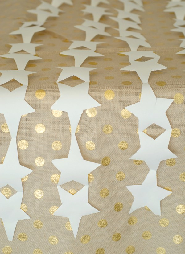 Easy star table runner
