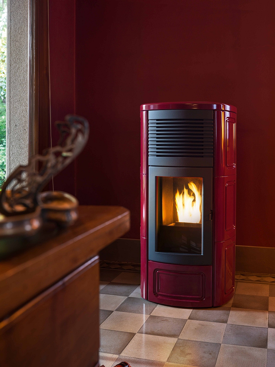 Stunning Contemporary Pellet Burning Stoves Energy