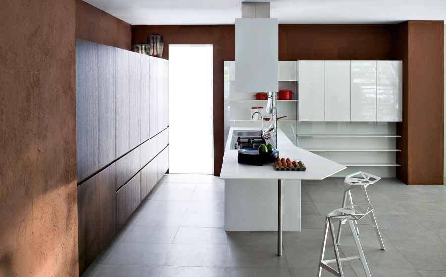 Exclusive kitchen island combines aesthetics with smart functionality